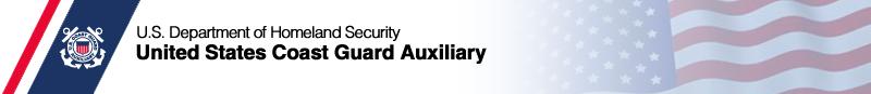 Coast Guard Auxiliary banner