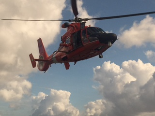 Photo of Coast Guard Auxiliary in action